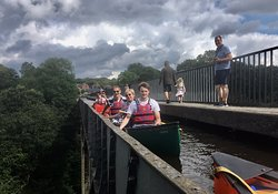 We had such a great day canoeing the two aqueducs!