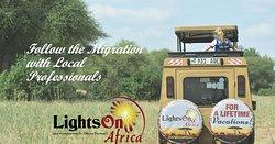 Lichten op bestemmingen en safari's in Afrika
