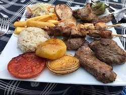Mixed Grill absolutely delicious