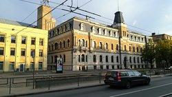 VEF - Standort des gleichnamigen Hotels gegenüber der ehem VEF-Fabrik