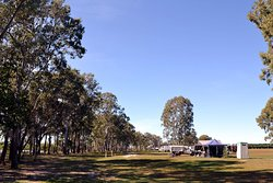Generous sites and layout of the campground allow every guest to enjoy a relaxing and tranquil stay at Rocky Point Retreat.