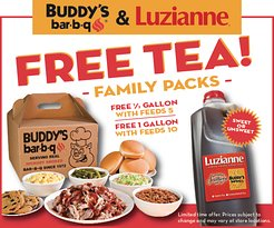 Free Tea with Family Packs!