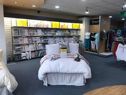 Julian Charles quality home furnishings located on the basement floor. Well worth a visit!!