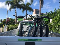 Delivering bikes to the JW Marriott on Marco Island