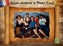 Escape adventure in Pirate Cave!