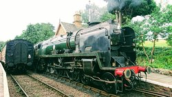 Great private railway to travel by steam