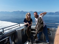 The halibut my wife and I caught