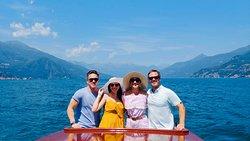 Giacomo's boat tour on Lake Como