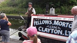 Boat yard tour.