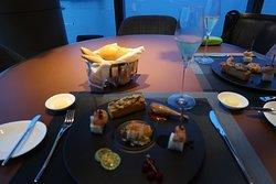 French & Vietnamese Set Dinner Appetisers