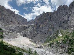 Anderter Alpe, sotto Forcella Undici, Croda Rossa di Sesto. Agosto 2019