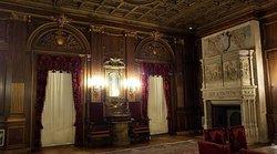 Vanderbilt mansion interior, Hyde Park, NY