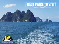 """📣📣 BEST PLACE TO VISIT 📣📣 Full day Phangnga Bay with Andaman Sea Kayak  Experience your best holidays ,we operate daily and look forward to welcoming you !! """"  www.andamanseakayak.com"""