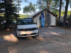 A magical stay at Loon's haven glamping tent