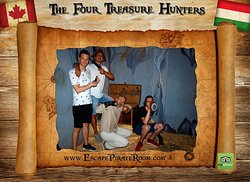 The Four treasure Hunters
