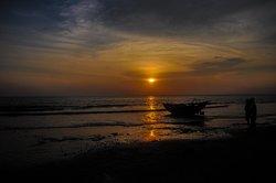 Sunset at Mousuni island.