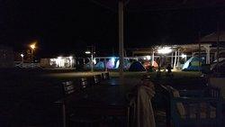 Çadır alanı gece