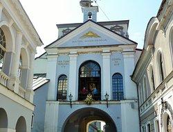 Gryningsporten (Ausros Vartai) i Vilnius