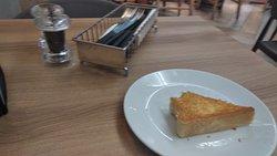 Garlic bread with Soup & Salad