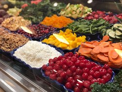 ALL FRESH FRUITS AND VEGETABLES IN YOUR SMOOTHIE