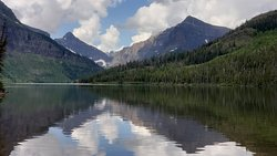 A beautiful area on the east side of Glacier NP.