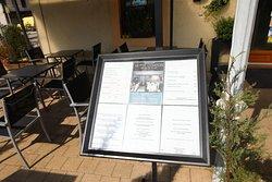 Joli restaurant avec sa terrasse