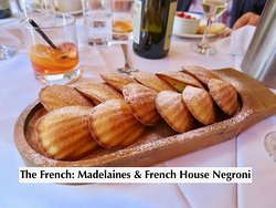 Madelaines & French House Negroni