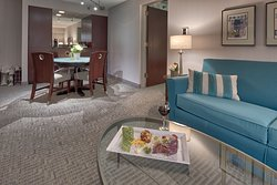 Relax in one of our Garden Suites while enjoying a little wine and cheese!