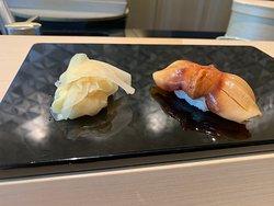 Red Clam--Sushi Wakon--Four Seasons Hotel--Kyoto, Japan