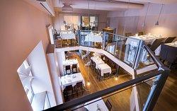 Galerie-Restaurant und Brasserie / Gallery-Restaurant and Brasserie