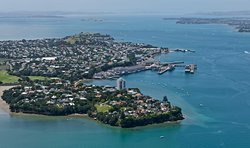 Davenport America's & Lipton Cup tours Auckland City Private Tour go sailing on a real America's Cup boat ©ChauffeuredToursnz North Island New Zealand tour