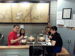 中国北京からのご家族連れ。