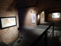 Part of the exhibition space