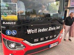 乗ってきたバスは、写真に撮って記憶したほうが良いです。帰れなくなっちゃいます。