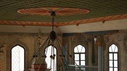 Šarena džamija - inside