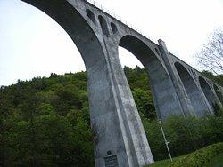 Das Viadukt, in Willingen, steht schon über 100 Jahre....
