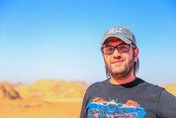 At wadi Rum 2019 August