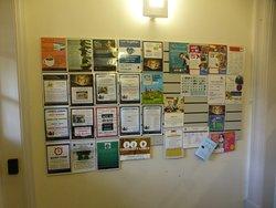 Activity notice board