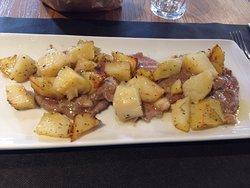 Scaloppa ai porcini con patate