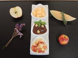 Hummus Chocolate Dessert ?? Yes we can ...