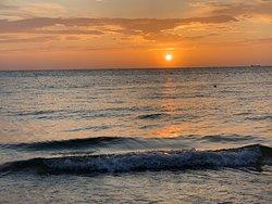 Lèvé du jour sur la plage