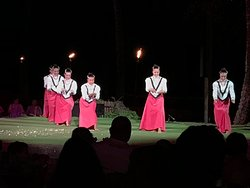 """The hula dancers, """"history of Hawaii"""" and overall entertainment is excellent!"""