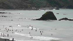 Black Rock Beach, lower tide