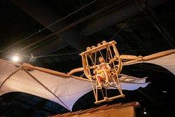 DaVinci's flying machine