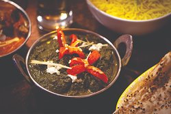 Must try Saag Paneer (spinach and cottage cheese) curry! Delicious British Indian Cuisine Indian Curry at The Colonial British Indian Cuisine - discover the true British-Indian flavours of this Sydney Indian restaurant!