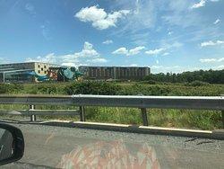 Kalahari from the highway