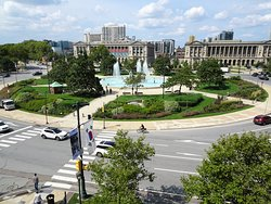 View to Logan Circle from Room (c) sdh