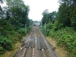 towards the rail station