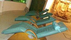 Lettini elettrici rilassanti con massaggio incorporato