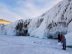 Ice caves and grottoes